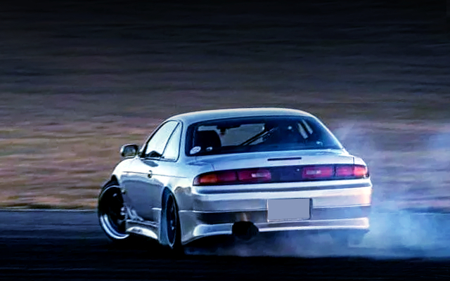 DRIFTING OF S14 SILVIA.