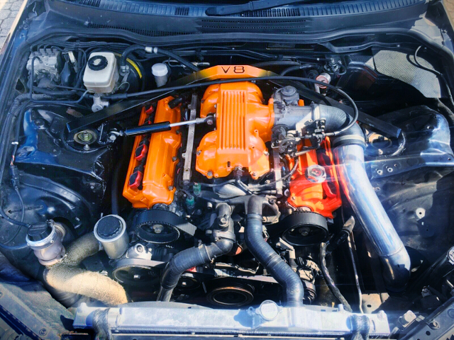 T88 TURBOCHARGED 1UZ-FE V8 ENGINE.