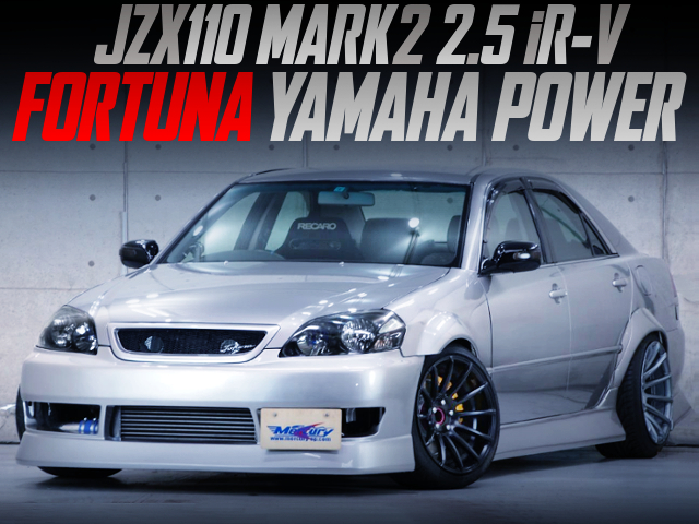 WIDEBODY And F-CON V-PRO With JZX110 MARK2 FORTUNA YAMAHA POWER.