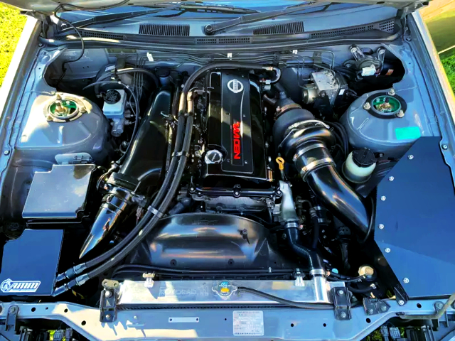 NEO VVL SR20DET ENGINE With GARRETT GTX3582R SINGLE TURBO.