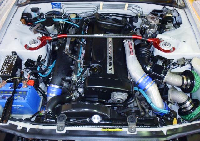 RB26DETT TWINTURBO ENGINE OF R32 GT-R MOTOR.