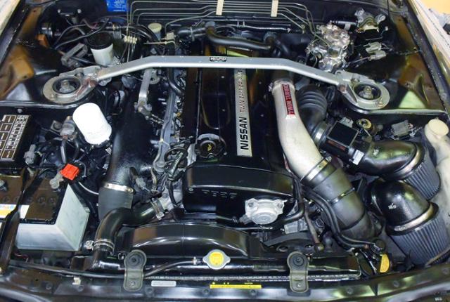RB26 TWIN TURBO ENGINE.