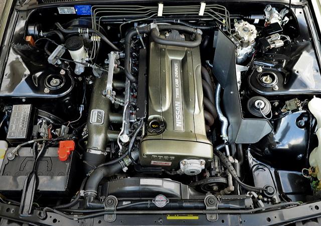 RB26DE 2.6-liter ENGINE OF R32 AUTECH VERSION MOTOR.