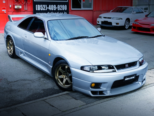 FRONT EXTERIOR OF R33 SKYLINE GT-R.