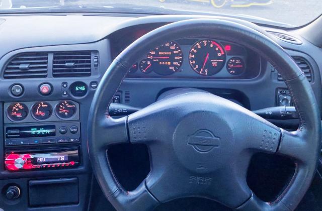 R33 GT-R SPEED CLUSTER.