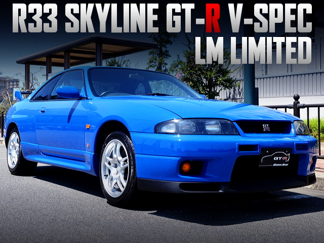 24-HOURS OF LE MANS MODEL R33 SKYLINE GT-R V-SPEC LM-LIMITED.