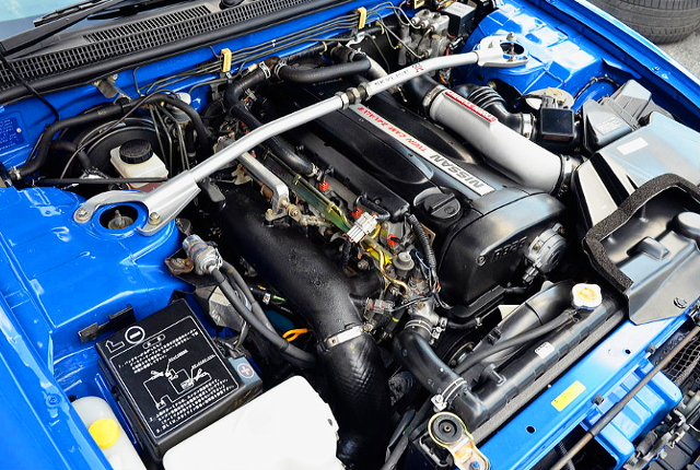 RB26 TWINTURBO ENGINE OF R33 GT-R V-SPEC LM-LIMITED MOTOR.