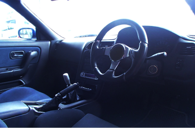 INTERIOR DASHBOARD AND STEERING.