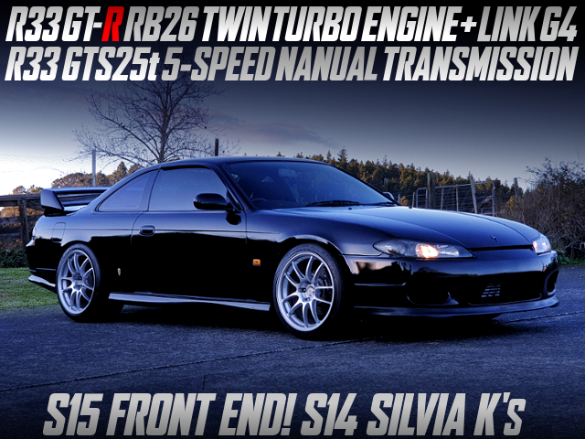 RB26DETT SWAP AND S15 FRONT END CONVERSION With S14 SILVIA K's.