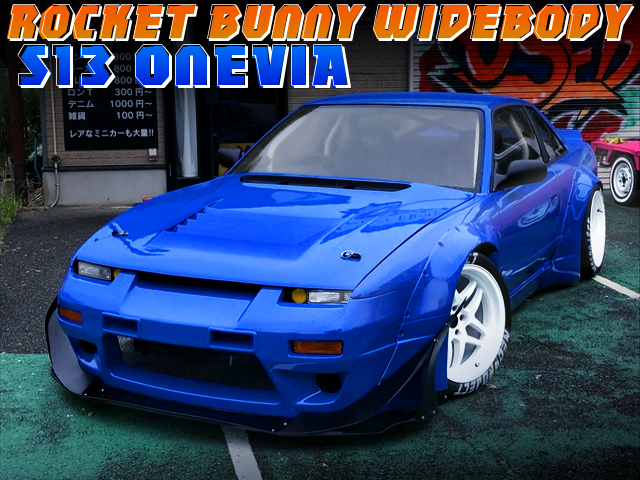 180SXFRONT END And ROCKET BUNNY WIDEBODY With S13 SILVIA.
