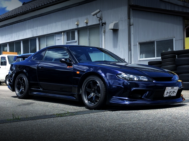 FRONT EXTERIOR OF S15 SILVIA SPEC-S B-PACKAGE.