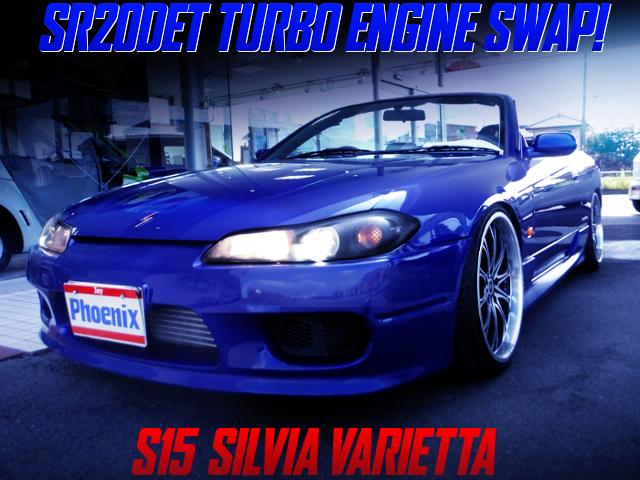SR20DET SWAPPED S15 SILVIA VARIETTA BLUE.