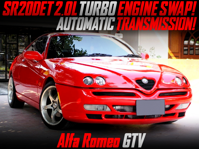 SR20DET TURBO SWAP With AUTOMATIC INTO ALFA ROMEO GTV.