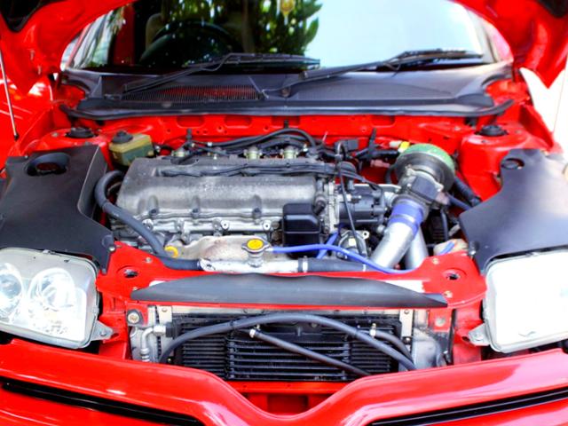 SR20DET 2-Liter TURBO ENGINE.
