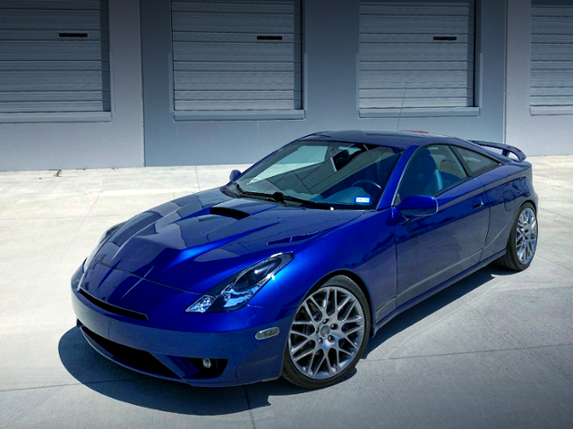 FRONT EXTERIOR OF T230 CELICA.