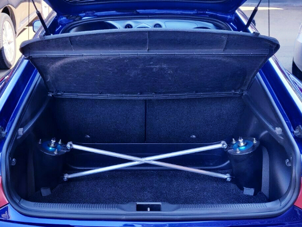 LUGGAGE SPACE OF T230 CELICA.
