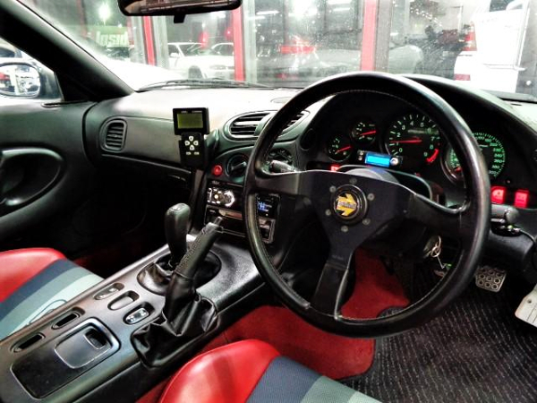 FD3S RX-7 CUSTOM DASHBOARD.