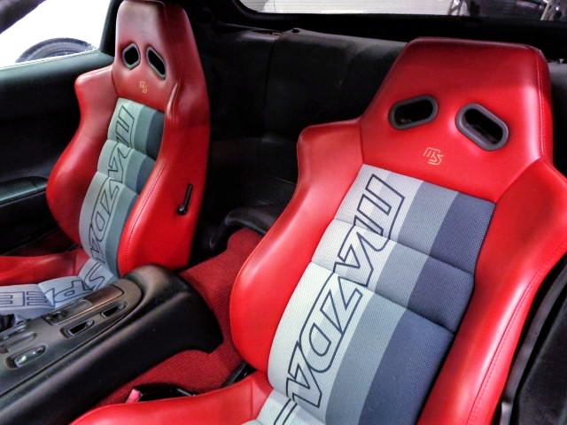 MAZDA SPEED SEATS.