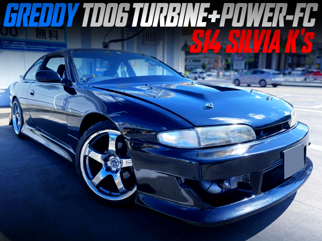 GREDDY TD06 TURBO With POWER-FC INTO S14 SILVIA.