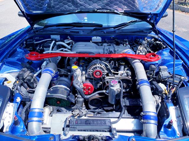 13B-REW TO4Z SINGLE TURBO ROTARY ENGINE.