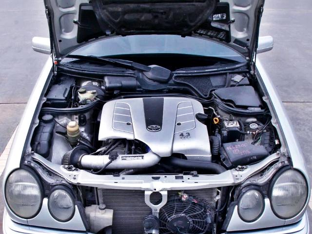 VVTi 3UZ-FE 4.3-Liter V8 ENGINE.