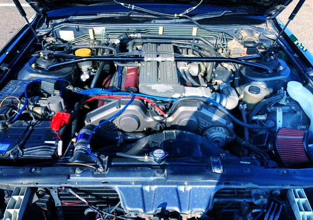 VG30DET 3000cc V6 TURBO ENGINE.