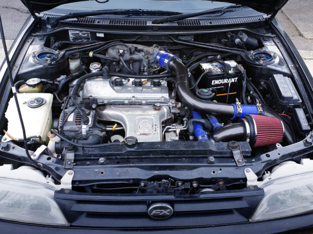 3S-GTE 2-liter TURBO ENGINE.