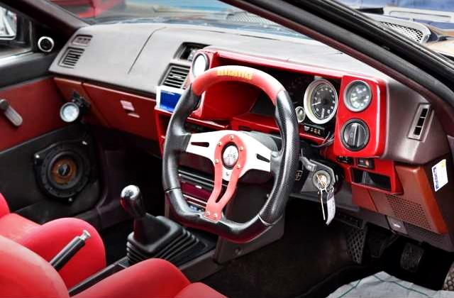 DASHBOARD OF AE86 LEVIN GTV.