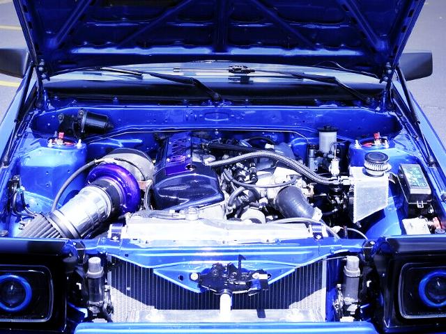 F20C VTEC TURBO ENGINE.