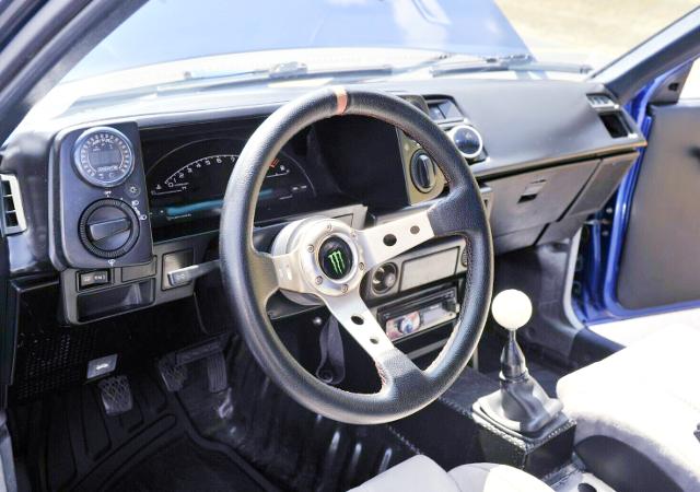 AE86 COROLLA SR5 DASHBOARD.