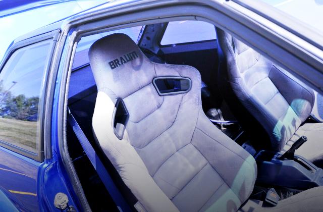 INTERIOR BUCKET SEATS.