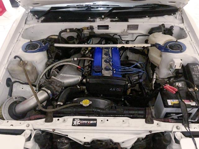 16V 4AGE ENGINE.