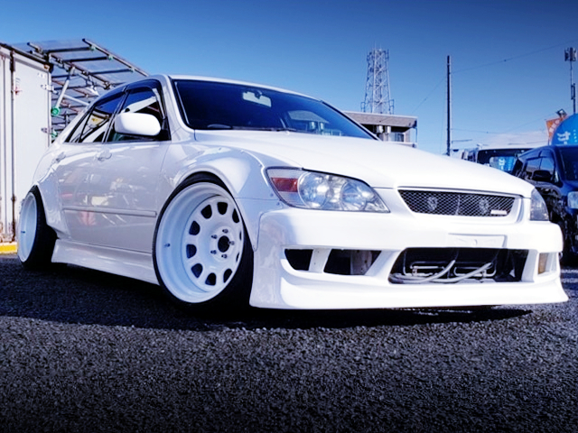 FRONT EXTERIOR OF ALTEZZA WIDEBODY.
