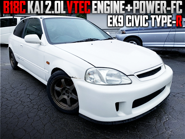 2-LIter BUILT OF B18C VTEC SWAP EK9 CIVIC TYPE-R.