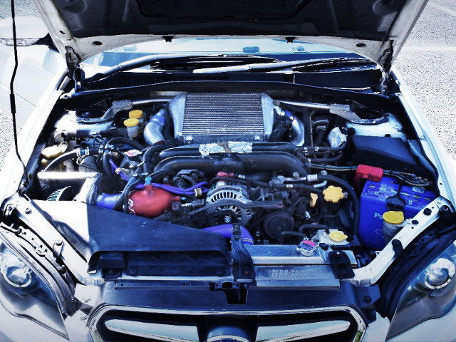 EJ25 2.5L BOXER TURBO ENGINE.
