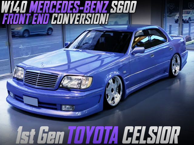W140 MERCEDES BENZ S600 FRONT END TO UCF11 TOYOTA CELSIOR.