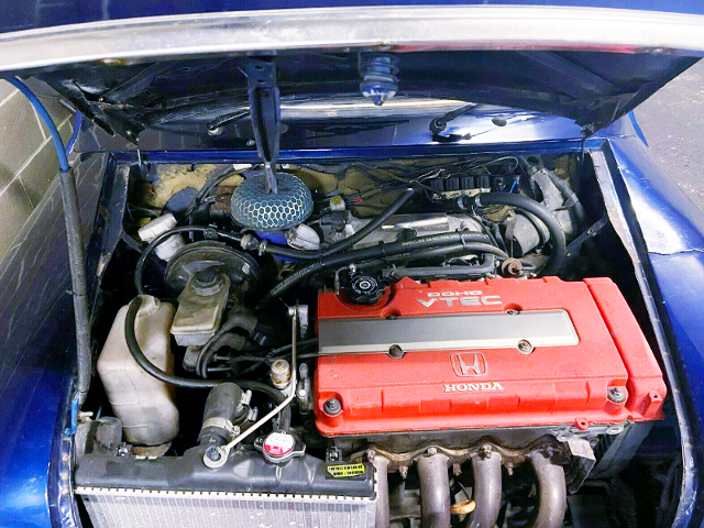 TYPE-R B18C 1.8-Liter VTEC ENGINE.