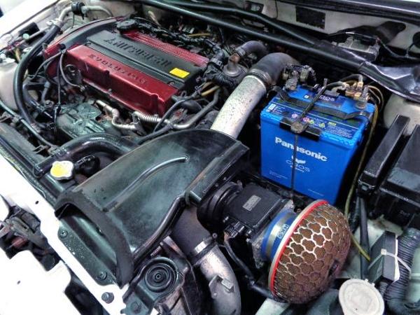 4G63 2-LITER TURBO ENGINE OF EVO7 MOTOR.