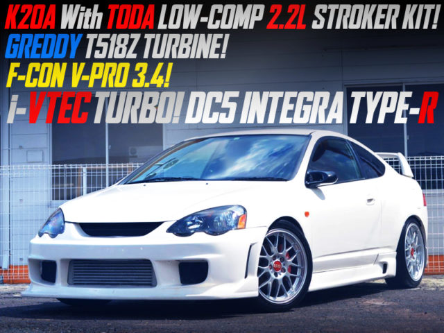 K20A 2.2L T518Z TURBO INTO DC5 TYPE-R.