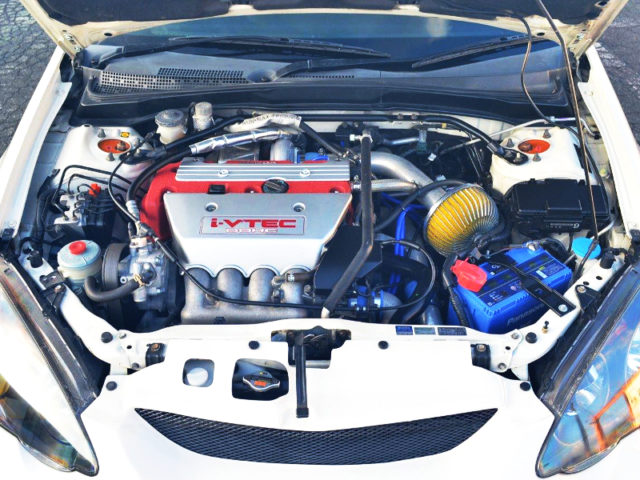 K20A TODA 2.2L i-VTEC TURBO ENGINE.