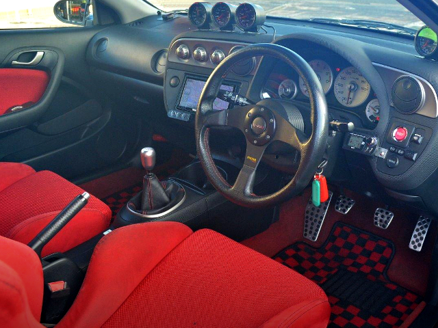 DC5 INTEGRA TYPE-R CUSTOM DASHBOARD.