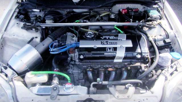 K-TECH B16B VTEC COMPLETE ENGINE.