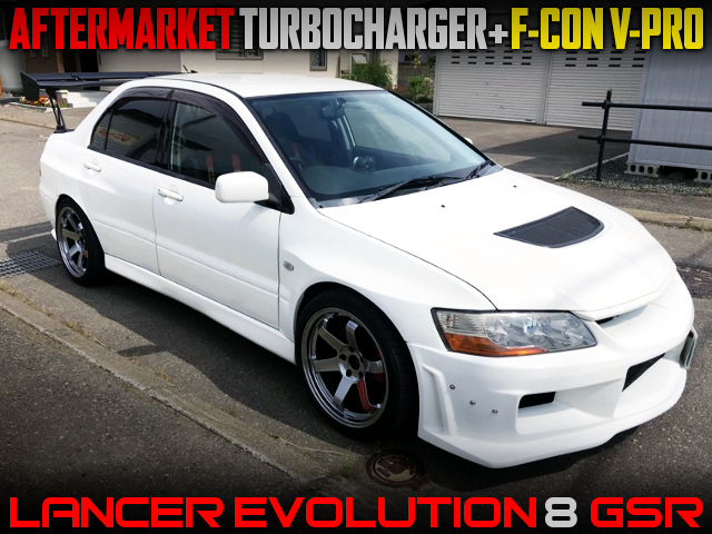 AFTERMARKET TURBO And F-CON V-PRO INTO CT9A EVO8 GSR