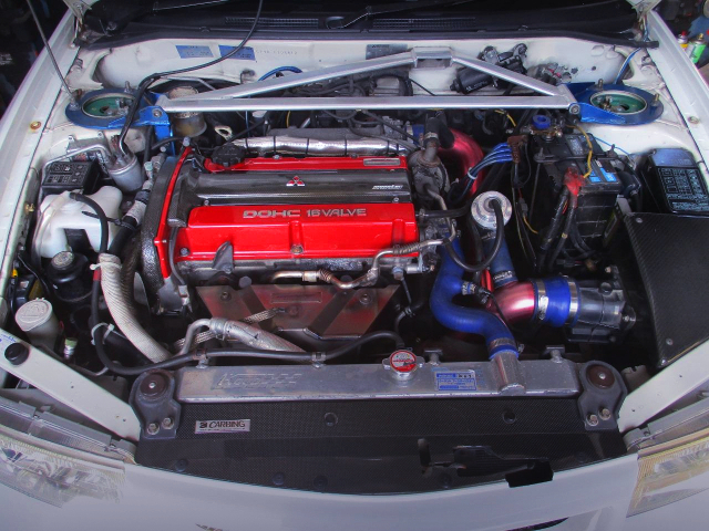 MONSTER SPORT 4G63 COMPLETE ENGINE.