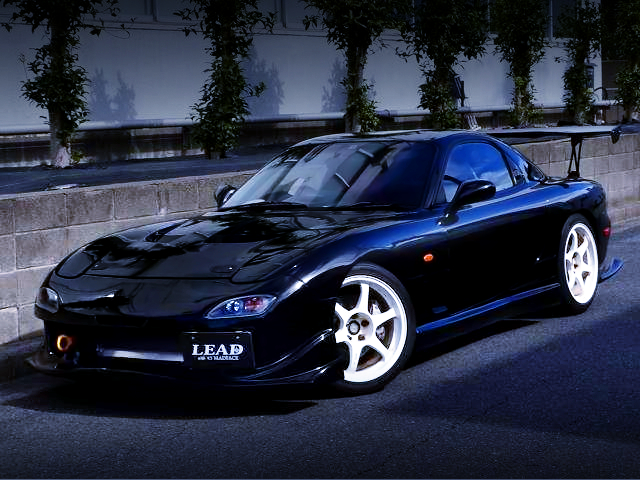 FRONT EXTERIOR OF FD3S RX7 TYPE-RZ.