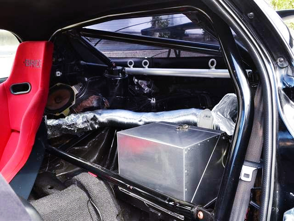 FD3S RX-7 CUSTOM LUGGAGE SPACE.