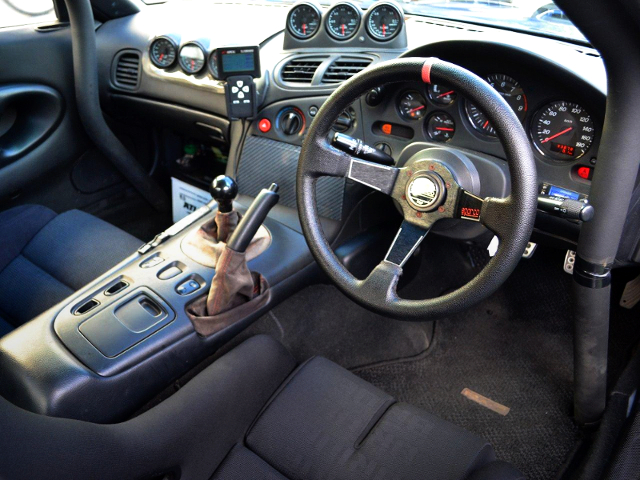 FD3S RX-7 TYPE-RS CUSTOM INTERIOR.