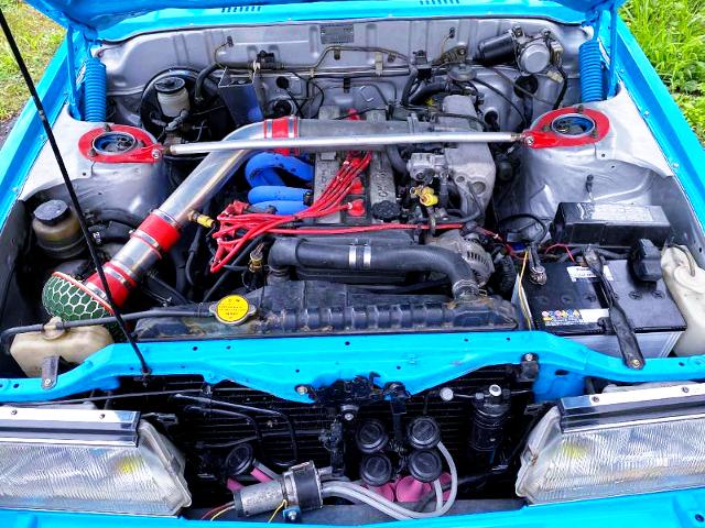 1G-GEU 2-liter TWINCAM ENGINE.