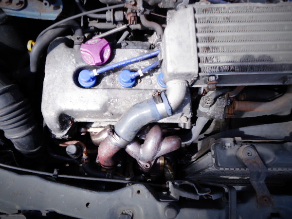 NEWS GT-1 EXHAUST MANIFOLD ON K6A TURBO.