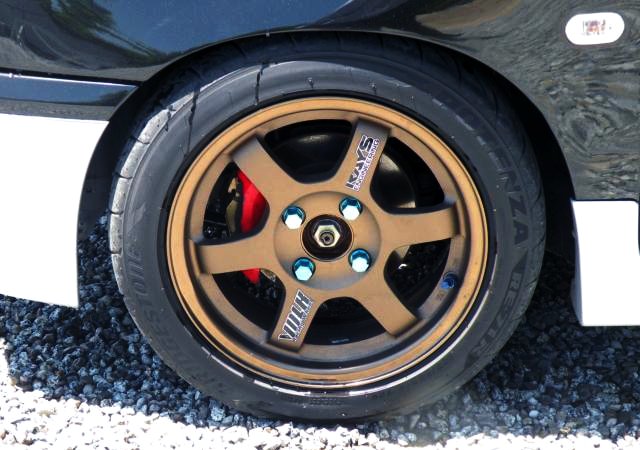 VOLK TE37 WHEEL.